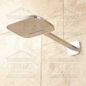 Flova Urban KI017 Air-in Rainshower | верхний душ 255x210 мм (хром)