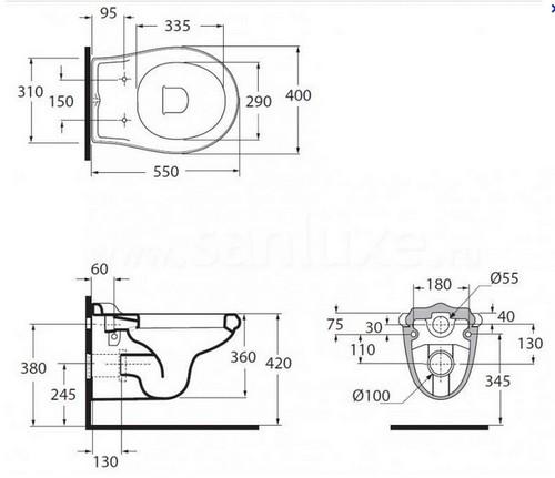 Унитаз подвесной Migliore Impero ML.IMP-25.340.BI угловой кран для смесителя купить